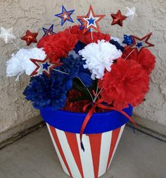 53 Awesome Juli Home Decor Ideen mit kleinem Budget # super # ideas, 4. Juli Party, 4th Of July Party, Fourth Of July, 4th Of July Wreath, July Crafts, Holiday Crafts, Holiday Fun, Holiday Ideas, Family Holiday
