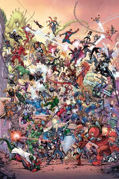 Marvel has revealed the Todd Nauck variant cover that will be available at comic book stores the night Secret Empire goes on sale. Marvel Dc Comics, Heros Comics, Bd Comics, Anime Comics, Marvel Heroes, Marvel Avengers, All Marvel Superheroes, Marvel Fight, Comics Universe