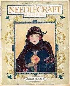 1924 Needlecraft magazine