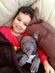 Pitbull with little girl Dogs And Kids, Animals For Kids, I Love Dogs, Animals And Pets, Baby Animals, Funny Animals, Cute Animals, Cute Puppies, Cute Dogs
