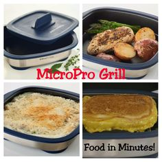 Meals in minutes with the MicroPro Grill made by Tupperware! Such a great product made by an AMAZING Company! What would you cook in yours!!