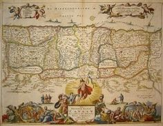 The Holy Land during the Time of Jesus. Original antique map, hand-colored, dated 1720