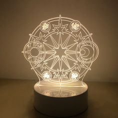 Card Captor Sakura Clear Card The Clow Magic 3d LED Night Light Lamp Gift | eBay