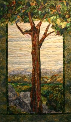 Seeking Shade - Murray Johnston - Art Quilts