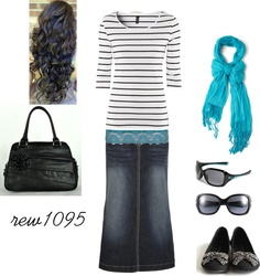 """teal"" by rew1095 ❤ liked on Polyvore"