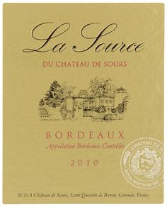 2010 Chateau de Sours La Source AC Bordeaux Rouge 750 mL >>> Be sure to check out this awesome product.