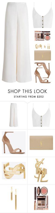 | All White - Pantalona + Cropped |