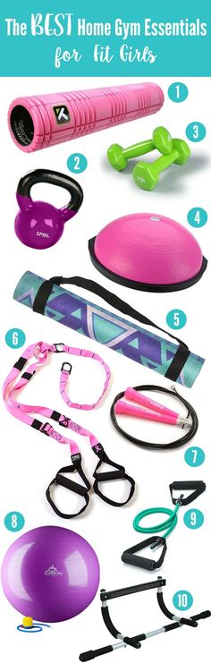 The 10 BEST Pieces of Equipment for Your Home Gym! • The Live Fit Girls