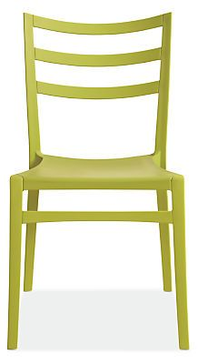Sabrinais an indoor/outdoor chair byCasprini,inspired by iconic café seating found throughout Italy in country restaurants. Lightweight and durable, the molded plastic chair adds personality with color.