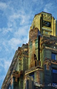 Carbide & Carbon Building in Chicago, IL (now Hard Rock Cafe)
