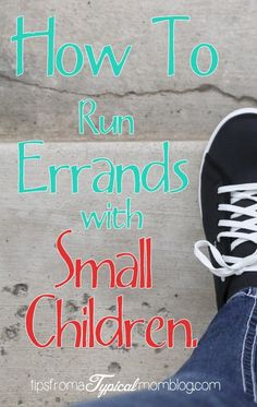 How to Run Errands with small children. 5 top lifesaving tips for running errands with babies, toddlers and preschoolers. #skyscape #sponsored #MC