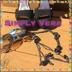 Candy I could possibly never get enough neck, ear & arm candy!. It's my easy dress up everything in zero time!. The longer & bigger the better for me just like this!. Brand new & fabulous! Simply Vera Vera Wang Jewelry Necklaces
