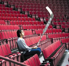 Vancouver goaltender Roberto Luongo alone with his thoughts. December 16 2006 General Motors Place in Vancouver British Columbia. Hockey Games, Ice Hockey, Hockey Pictures, Alex Ovechkin, Vancouver British Columbia, Florida Panthers, Vancouver Canucks, Washington Capitals, Philadelphia Flyers