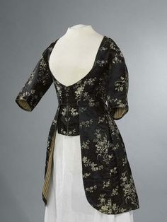 Black jacket, 1770-1789.