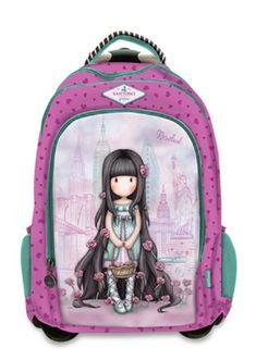 Santoro London, Holly Hobbie, Girls Bags, Cute Bags, Rose Buds, School Bags, Backpack Bags, Fashion Bags, Unicorn