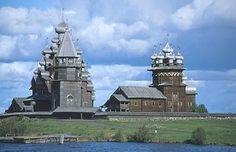 Wooden castle...Russia