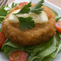 This baked fish patties recipe, is a great way to use some leftover fish and mashed potatoes.