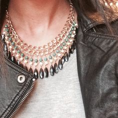 Statement piece necklace. Gorgeous new necklace great for the holidays. Jewelry Necklaces
