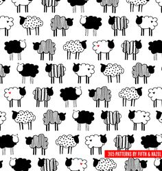 """One little black sheep"" by Fifth and Hazel"