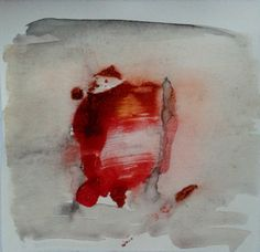 Breakthrough 2. Abstract watercolor painting by RhymingScapes