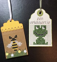 Tiny Cross Stitch, Cross Stitch Cards, Cross Stitch Animals, Cross Stitch Designs, Cross Stitch Patterns, Stitching On Paper, Cross Stitching, Cross Stitch Embroidery, Bee Crafts
