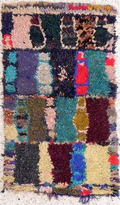 moroccan carpet boucherouite, $180