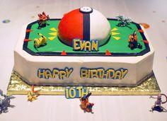 Pokemon Birthday Theme Cake Decorating Community Cakes We Http Pokemon Birthday Cake, Pokemon Party, Pokemon Cakes, 9th Birthday Parties, Birthday Fun, Birthday Ideas, 11th Birthday, Cake Birthday, Cupcake Cakes