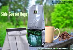 Swiss Pac South Africa, manufactures metalized Side Gusset Bags, which can be able to provide high barrier against oxygen, moisture, and light, keeping them fresh for longer time. View more at http://www.swisspac.co.za/side-gusset-bags-and-side-seal/