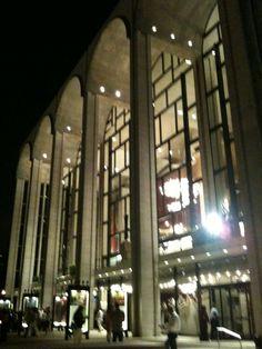 Metropolitan Opera House @ Lincoln Center, NYC, 2010; Photo: Philip M. Tusa.