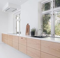 The latest project from Roervang Furniture, a beautiful modern kitchen made from…