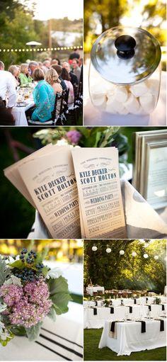 Lyons, Colorado Wedding from Ashley Davis Photography + Calluna Events Modern Wedding Program, Wedding Simple, Wedding Programs, Debut Planning, Wedding Planning, Lyons Colorado, Ashley Davis, Wedding Inspiration, Wedding Ideas