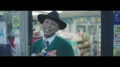 Pharrell Williams - Happy (12AM)   NICE. You're good at music Pharrell and you have a beautiful voice for this kind of music. PLAY IT BABY
