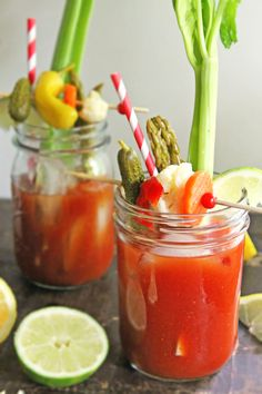 A must try Dill Pickle Bloody Mary to go with your next brunch! By guest blogger @rhubarbiariansbl!