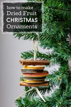 Enjoy the beauty of nature with this easy dried fruit ornament tutorial. A great addition to your Christmas tree or you can use them to tie onto gifts for an gift with a gift.