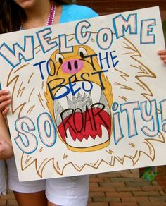 Bid day signs, yes!!