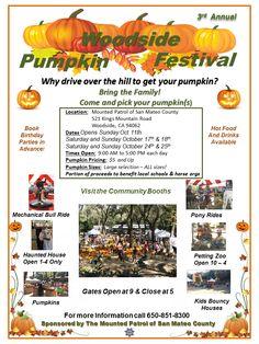 Mounted Patrol | Woodside Pumpkin Festival