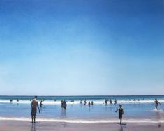 Available to buy online, Fun Day St Francis Beach by Alex Marmarellis, a stunning beach scene in acrylic on canvas, size 93 x 75 x 5 cm framed. Paintings Online, Online Painting, White Shadow Box, St Francis, Beach Scenes, Quote Prints, Online Art Gallery, African, Outdoor
