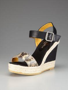 Cozumel Espadrille Wedge Sandal by Bettye Muller on Gilt.com