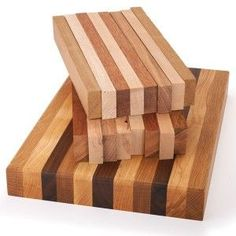 Make your own wooden cutting board! I've done this... now where did I put that?!