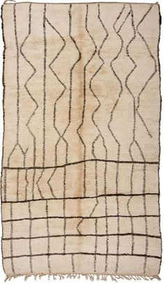 1318---BERBER-AZILLAL-RUG-385X230CM. Loom Australia. Another great potential wallhanging.
