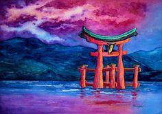 Original Japanese Temple Gate  Toriiru  by BrazenDesignStudio, $225.00