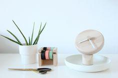 totidè table clock - stylist Sara by Studio Snowpuppe