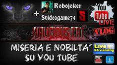 LIVESTREAM CAT VLOG #4 Miseria e nobiltà su You Tube