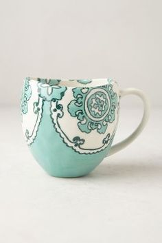Gloriosa Mug.  Love this color and the blue one that is available!