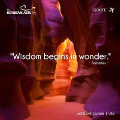 This is a beautiful quote by Socrates. #koreanair