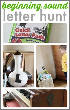 The quickest and easiest letter sound activity ever!