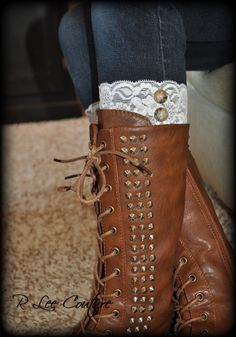These will be so fun with a cute dress or skirt and cowboy boots!