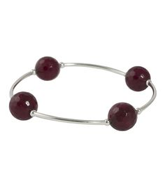 Faceted Cherry Blessing Bracelet