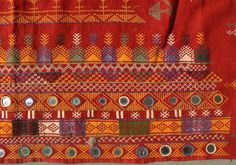 Indian Shawl Textile Embroidery