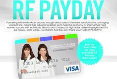 What's my favorite thing about pay day at Rodan+Fields?? I'd have to say it's going to my banks bill pay site and DELETING places I owe as I pay off bills!!! First the Escalade and now I got to delete 2 more this month!! My paycheck also fully covers my launch even with hiring 2 characters and all the extra's!! This nice little side business is turning into something amazing.